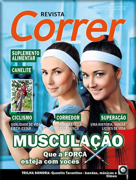 Revista Correr 2 - Capa Musculação Corrida