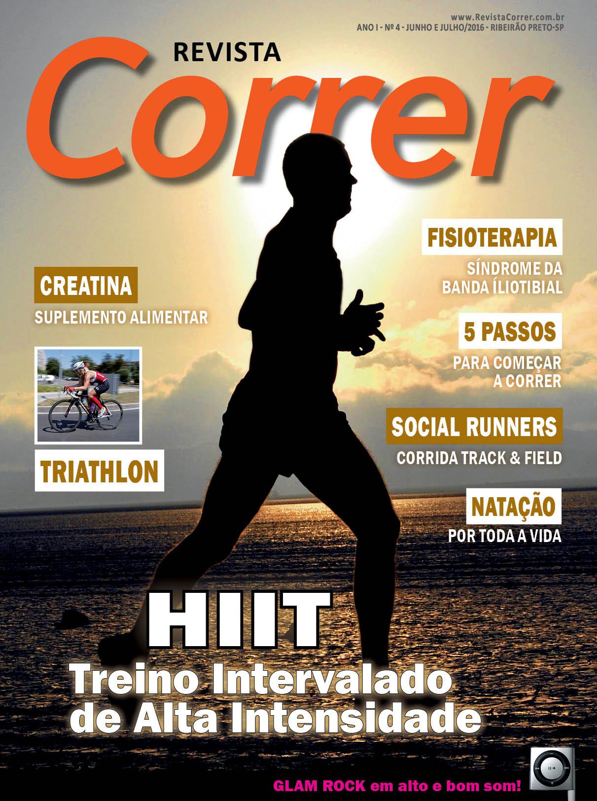 Corrida Revista Correr 4 Capa