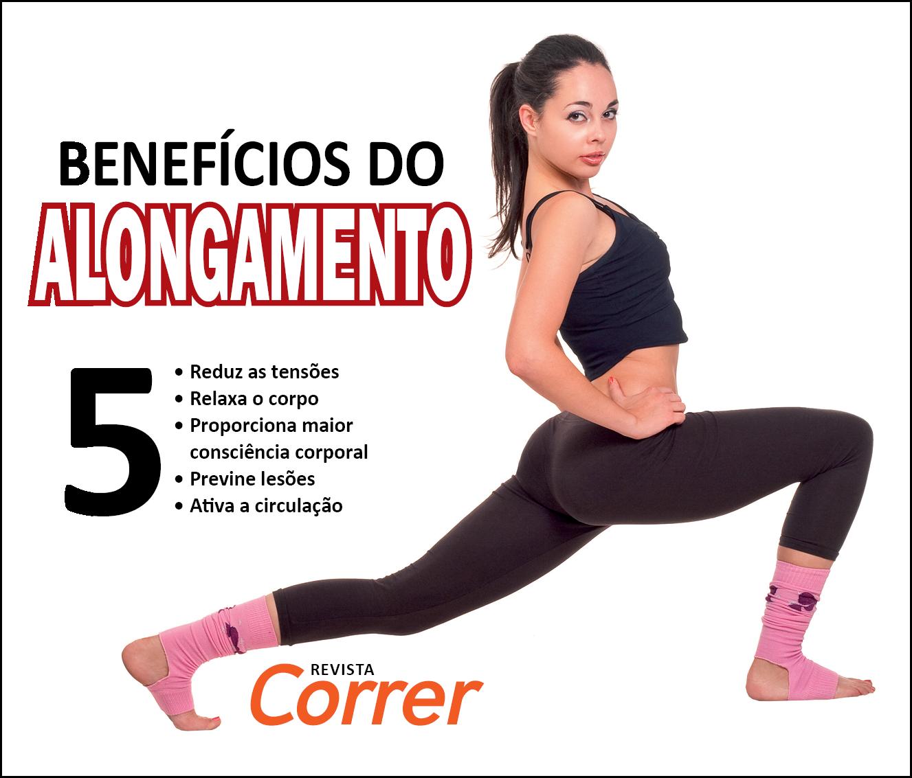 Revista Correr - Alongamento Corrida Facebook