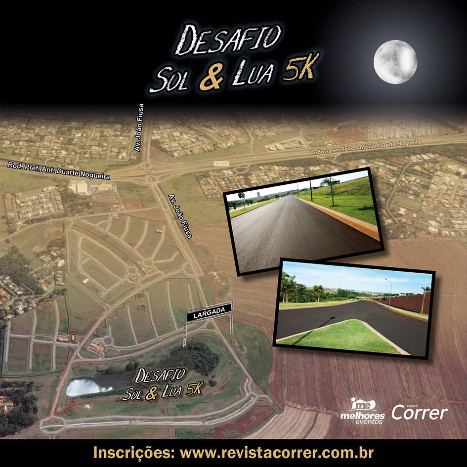 Percurso Desafio Sol e Lua Ribeirao - Revista Correr