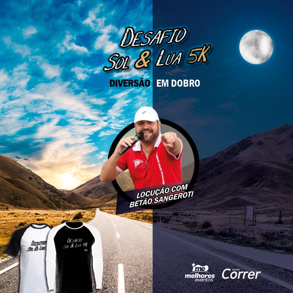 Corrida Desafio Sol e Lua 5k Ribeirão Preto - Revista Correr